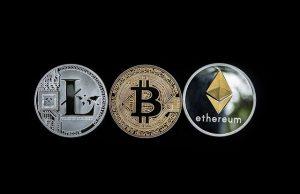 wichtigsten Münzen bei Bitcoin Evolution wie Bitcoin, Ethereum und XRP